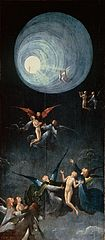 Ascent of the Blessed by Hieronymus Bosch