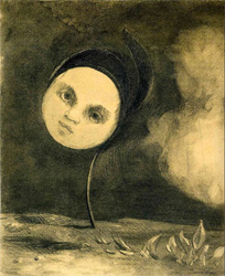 Head on a Stem by Odilon Redon