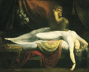 The Nightmare by Johann Heinrich Füssli
