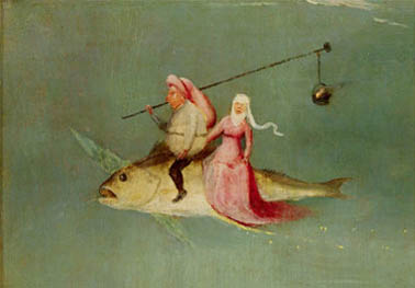 Detail from Triptych of the Temptation of St. Anthony by Hieronymus Bosch
